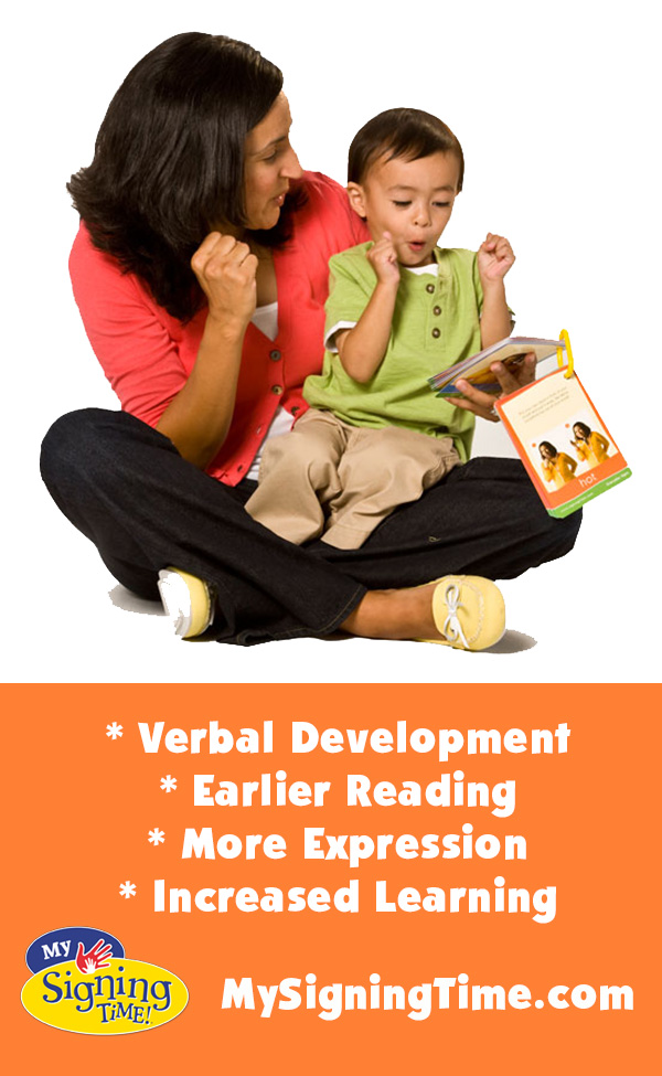 Increased Vocabulary with Baby Sign Language