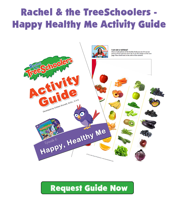 Rachel & the TreeSchoolers - Happy Healthy Me Activity Guide