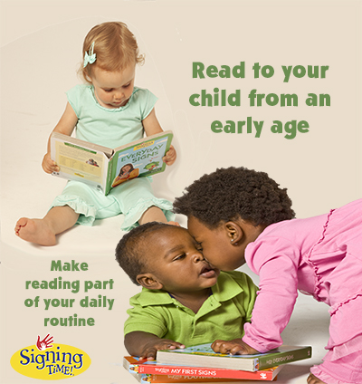 Read to your child from an early age